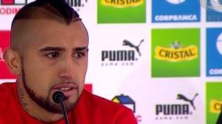 Arturo Vidal pide perdón llorando tras el accidente ebrio en su Ferrari durante la Copa América 2015