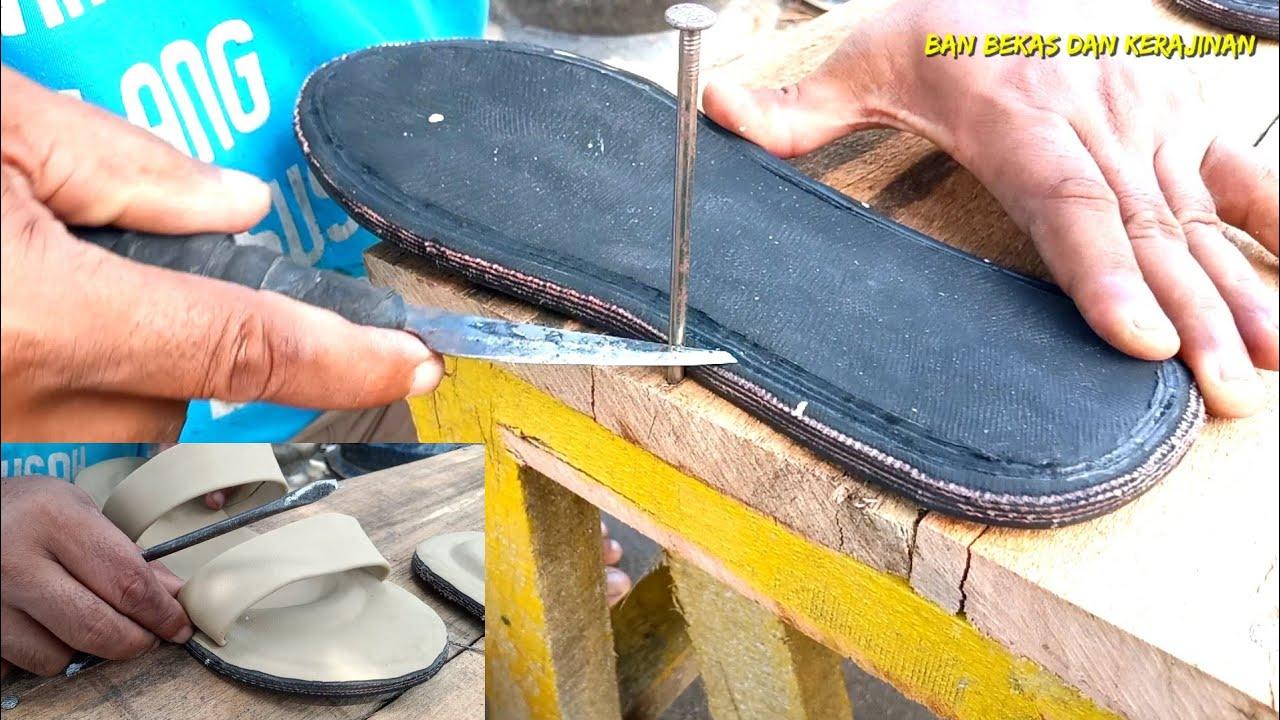 faça suas próprias sandálias duráveis