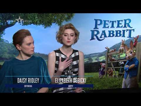 PETER RABBIT™  MEERKAT MOVIES  Daisy Ridley, Elizabeth Debicki, Domhnall Gleeson
