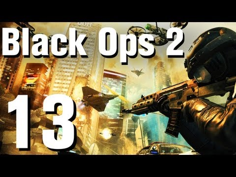 Black Ops 2 Walkthrough Part 13 - Time and Fate - 동영상