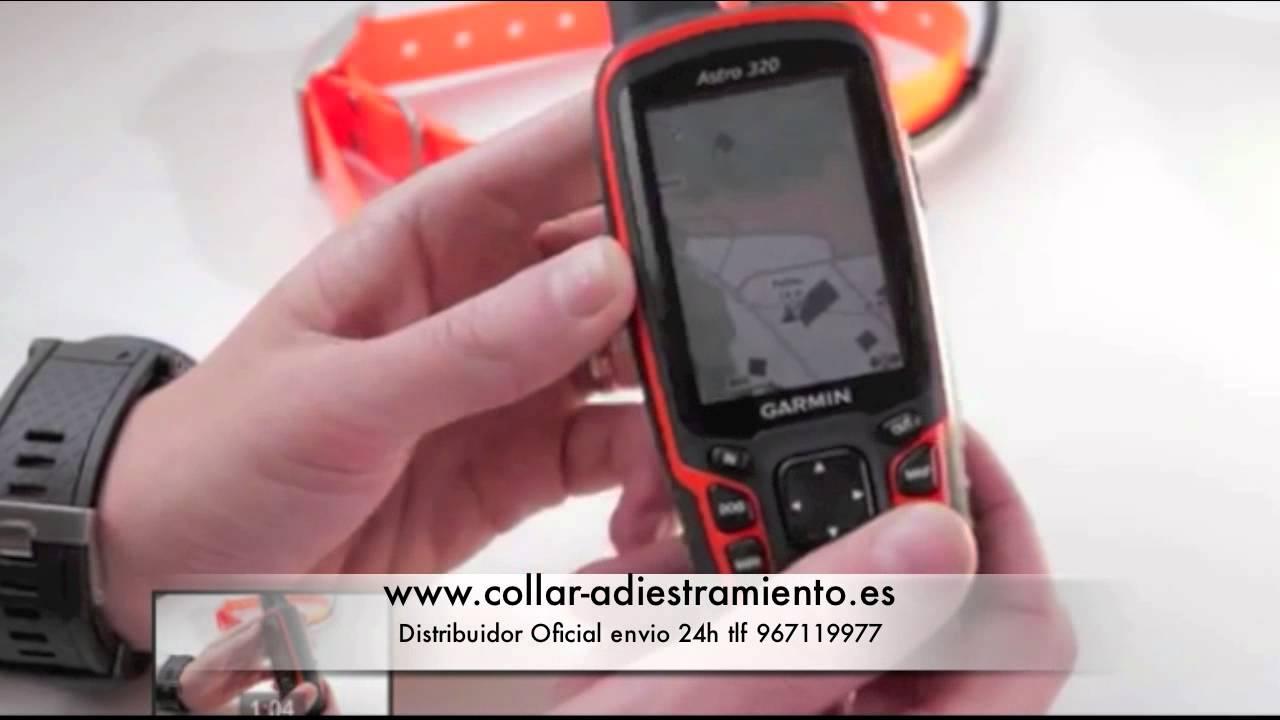 Garmin Astro 320 Español - YouTube
