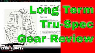 Tru-Spec Gear Review, Update!
