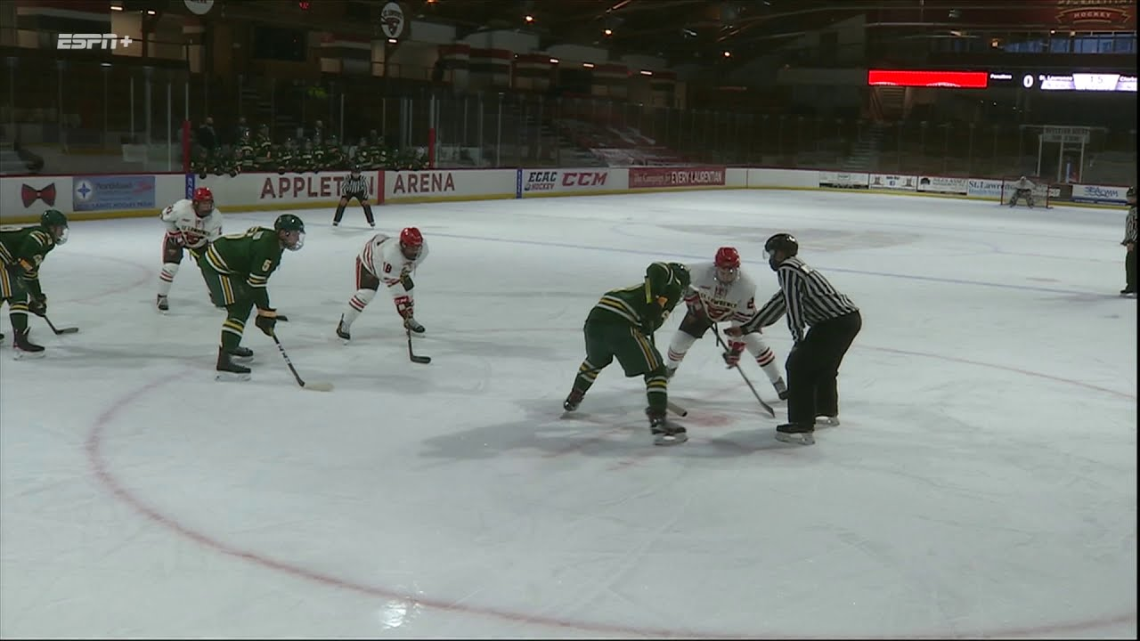 Clarkson 2, St. Lawrence 1 (men's hockey)