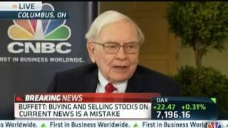 WARREN BUFFETT- DON'T MAKE THIS TERRIBLE MISTAKE