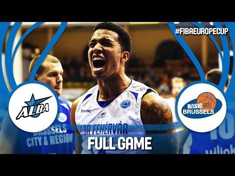 Alba Fehérvár (HUN) v Brussels Basketball (BEL) - Full Game - FIBA Europe Cup 2016/17