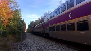 [HD] Two Weekend Middleboro Trains