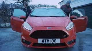 Ice Ice Baby Ford fiesta snow