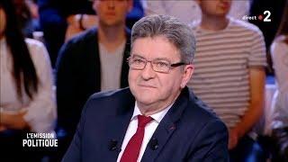 JEAN-LUC MÉLENCHON À L'ÉMISSION POLITIQUE - 17 mai 2018