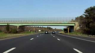 Interstate 495 - Massachusetts (Exits 10 to 7) southbound