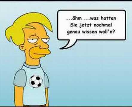 Horst Frank Parodie - Herbstlaub
