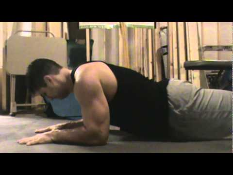 Sphinx Pushups from P90X Core Synergistics - www teamdetermination com