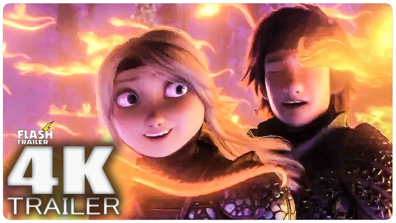 HOW TO TRAIN YOUR DRAGON 3 Trailer (2019) 4K ULTRA HD