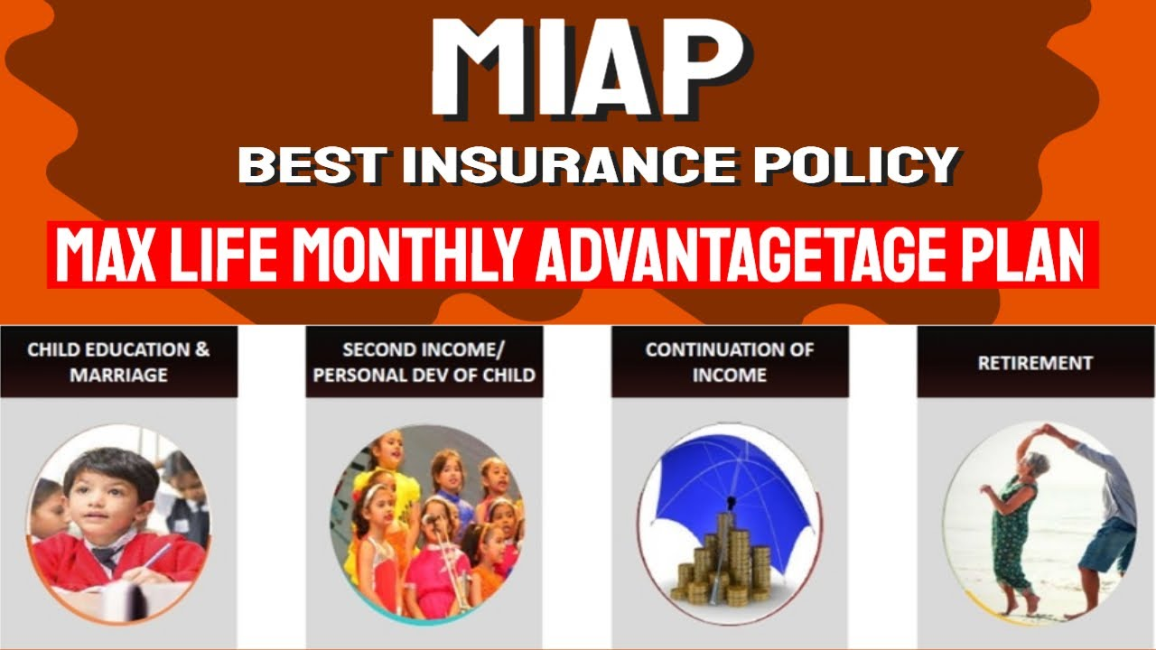 MIAP - MAX LIFE MONTHLY ADVANTAGE PLAN - BEST LIFE ...