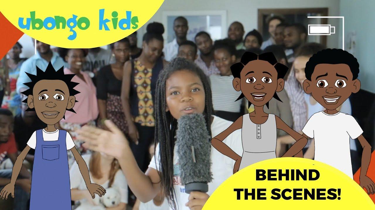 Behind the Scenes with Ubongo Kids | African Educational Cartoons