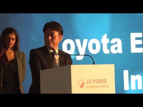 Toyota Kirloskar Motor: J.D. Power 2015 India Awards Presentation