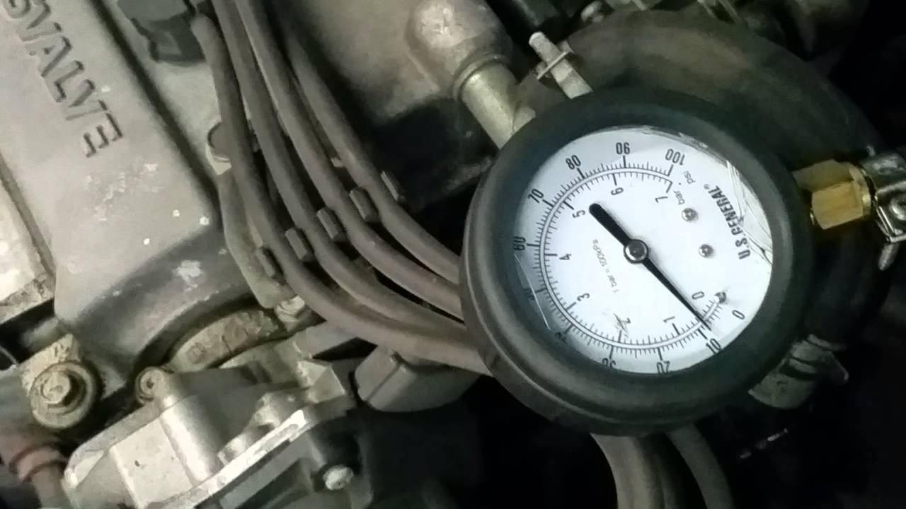 2000 Nissan Altima Fuel Pump Test