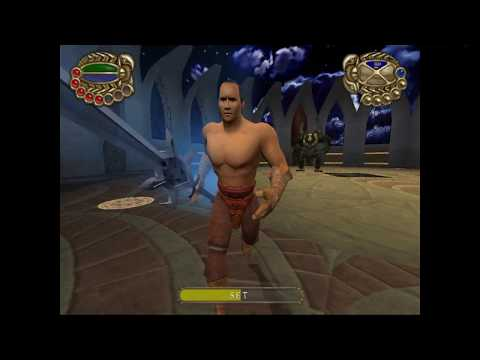 The Scorpion King Rise of The Akkadian (ps2) Final Boss Magus, SET