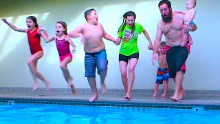 Repeat youtube video SHAYTARDS FAMILY CANNON BALL!