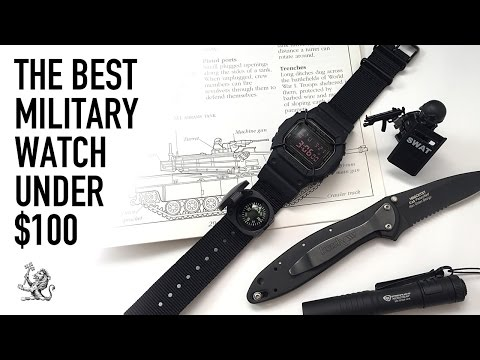 The Best Military Tactical Beater Watch Under $100 - Casio G-Shock DW5600MS-1 Review & Comparison