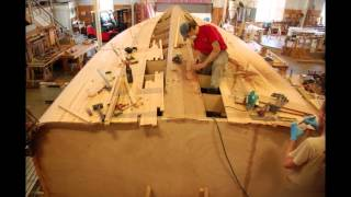 Time Lapse of Cold-Molded Wooden Boat Building - Stage 1