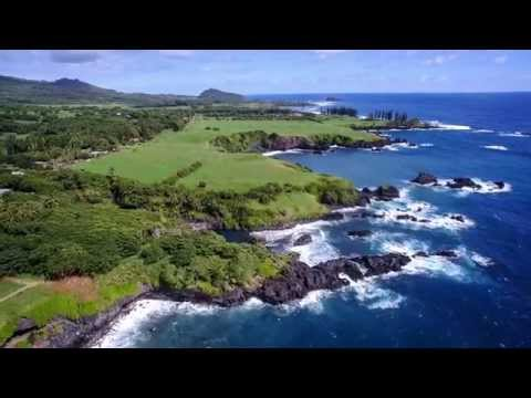DJI Inspire 1 Early Prototype Clips Of Maui - 4K