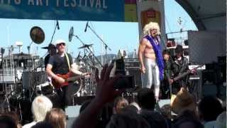 THE TUBES - WHITE PUNKS ON DOPE - SAUSALITO ART FESTIVAL 2010
