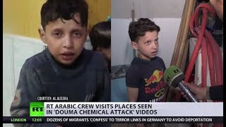 Visiting Douma 'chemical attack' site: Witnesses recall how White Helmets shot the video
