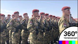 Росгвардия презентовала форму участников парада Победы на Красной площади