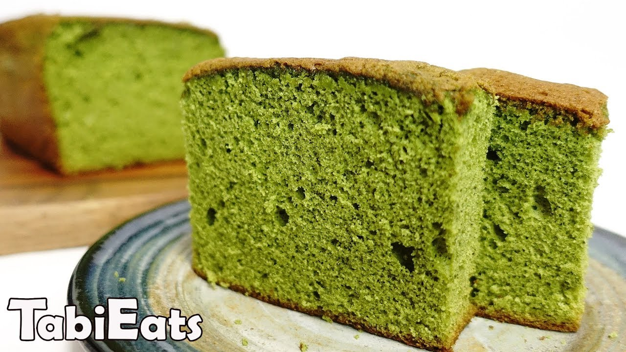 How To Make Matcha Castella Japanese Green Tea Sponge Cake