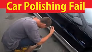 Car Wash & Polish Mistakes Mess Ups What Not To Do DIY Tutorial #14
