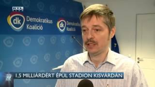 1,5 milliárdért épül a stadion Kisvárdán 16-02-18