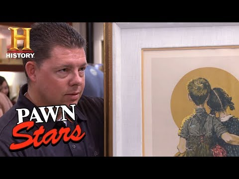 Pawn Stars: Norman Rockwell Lithographs | History
