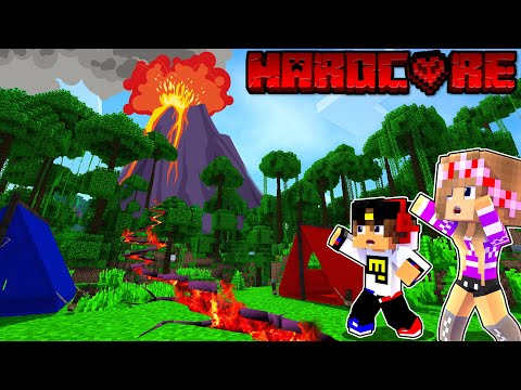 Майнкрафт но Я прожил 100 Дней на Острове Хардкор в Майнкрафте Троллинг Ловушка Minecraft