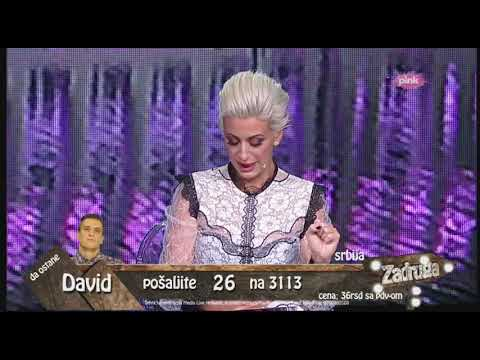 Zadruga 2 - Davidov brat poslao poruku Dušici, pa raskrinkao Biljanu - 12.11.2018.