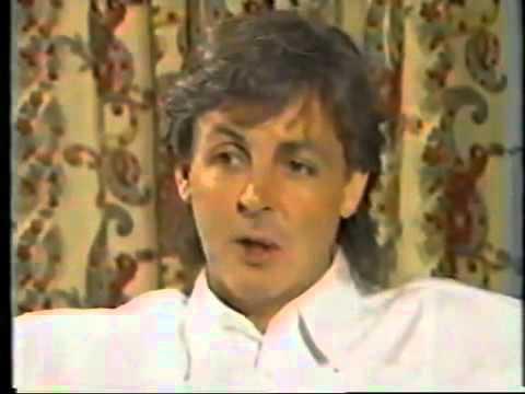 Paul McCartney and Eric Stewart discussing his album,