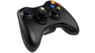 подключить геймпад Xbox 360 без ресивера