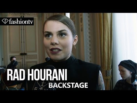 Rad Hourani Spring/Summer 2014 Backstage | Paris Haute Couture Fashion Week | FashionTV