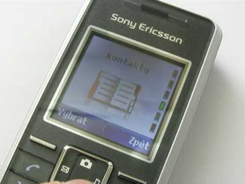 Sony Ericsson K200i - konstrukce a design