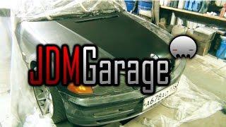🔰 JDM Garage | BMW E46 | Ремонт и покраска капота