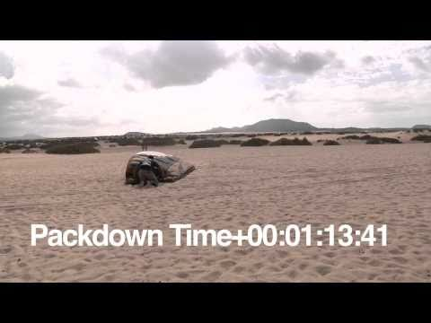 How Long does it take to pack down a Flysurfer Speed3 19m Deluxe?