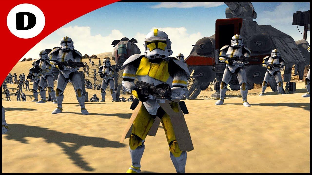 COMMANDER MILLES JOINS THE CLONE WARS - Men Of War: Star ...