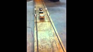 Rail riding roller robbit