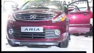 Explore TATA Aria @ 11th Auto Expo 2012 India (First look)