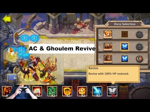 Important Ghoulem Placement Atlanticore OWNAGE SS Castle Clash
