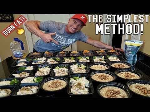 How To Meal Prep For The Entire Week | Bodybuilding Shreddin