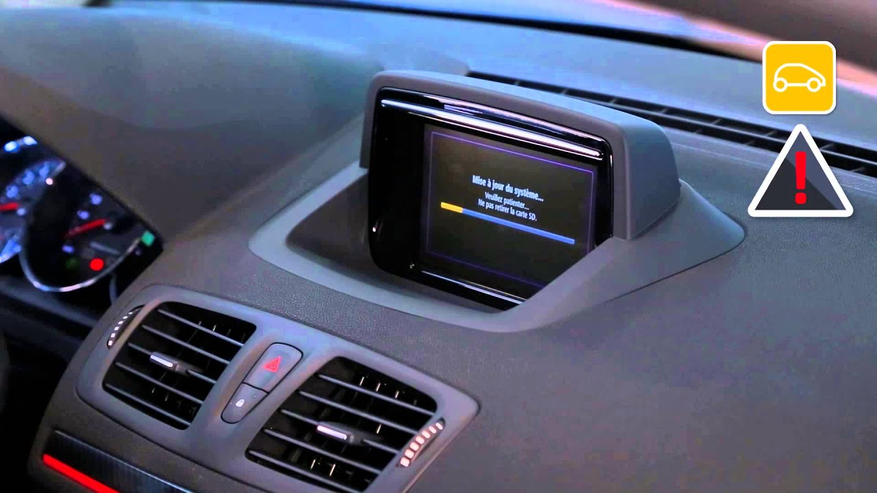 mise jour carte gps tomtom renault scenic. Black Bedroom Furniture Sets. Home Design Ideas