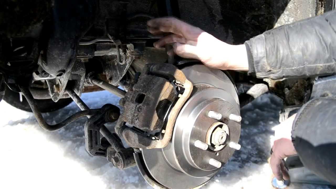 How To Change Rear Brakes Subaru Impreza Youtube