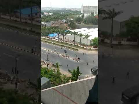 Nigerian Police vs Shiites members in Abuja