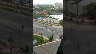 Nigerian Police vs Shiites members in Abuja