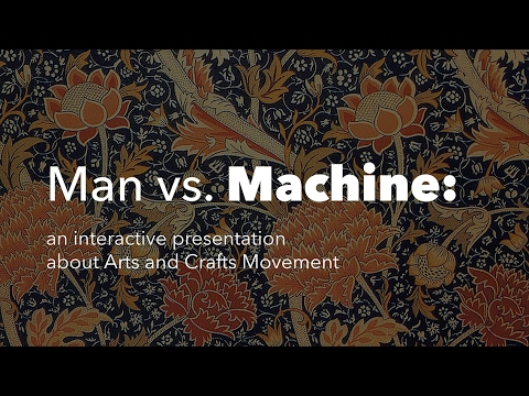 powerpoint presentation on arts and crafts movement youtube